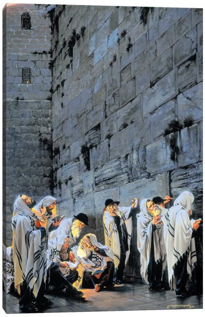 Early Morning Prayer Canvas Art Print