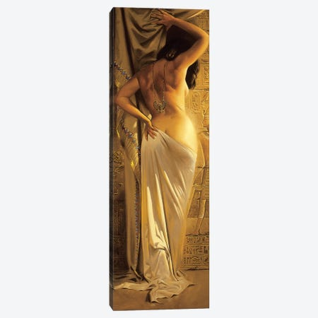 Egyptian Goddess Canvas Print #MHM32} by Maher Morcos Canvas Art Print