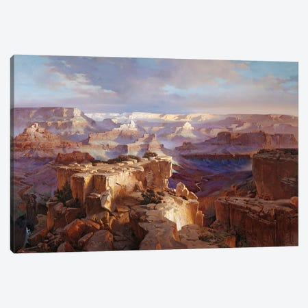 Grand Canyon I Canvas Print #MHM41} by Maher Morcos Canvas Art