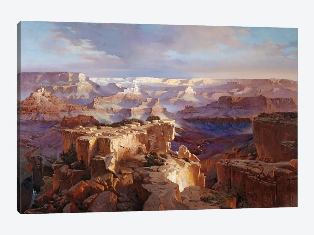 Grand Canyon I by Maher Morcos 1-piece Canvas Artwork