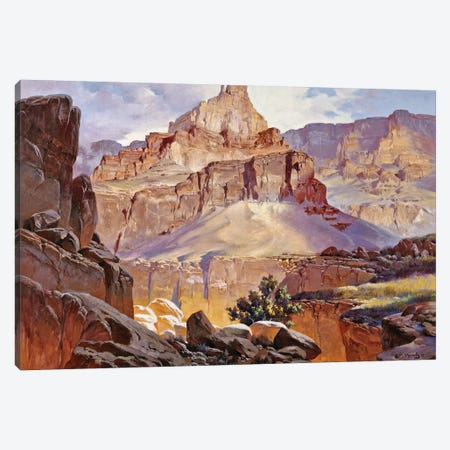 Grand Canyon Ii Canvas Print #MHM42} by Maher Morcos Canvas Artwork