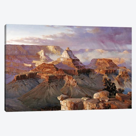 Grand Canyon Iii Canvas Print #MHM43} by Maher Morcos Canvas Art