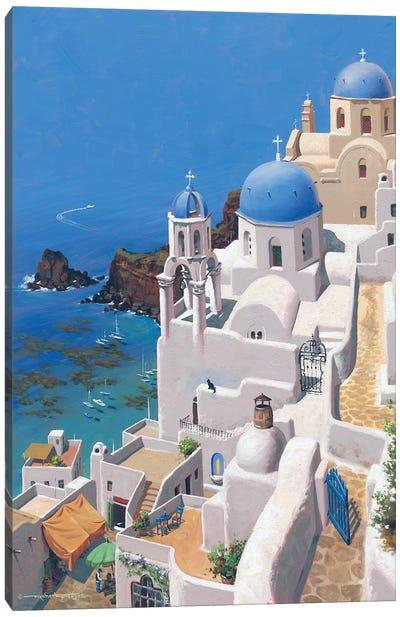 Greek Paradise Canvas Art Print