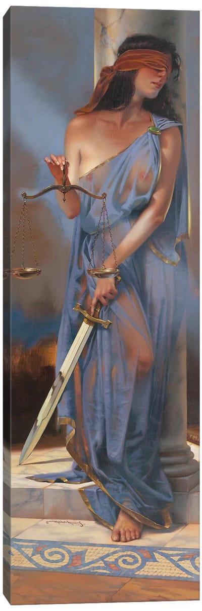 Lady Justice Canvas Art Print