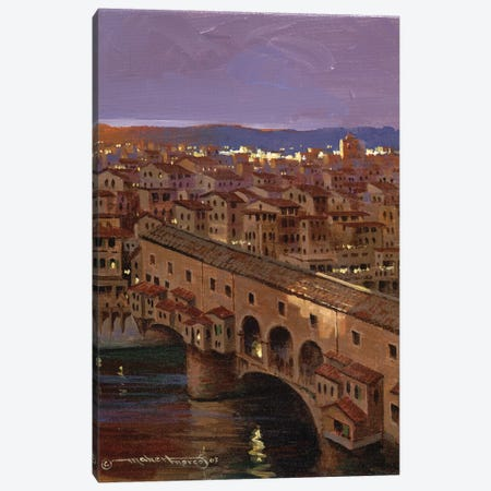 Maherflorence Canvas Print #MHM59} by Maher Morcos Art Print