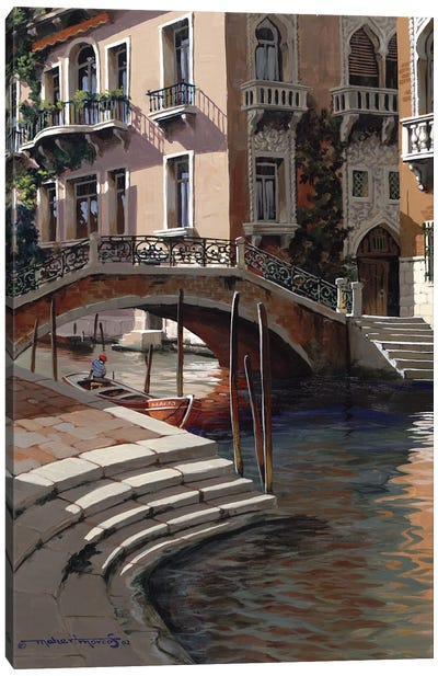 Afternoon In Venice Canvas Art Print