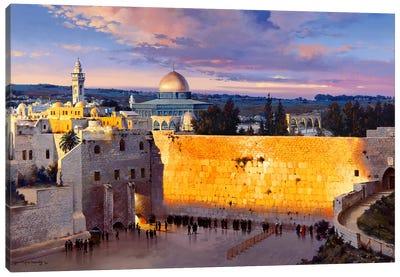 Majestic glow Canvas Art Print
