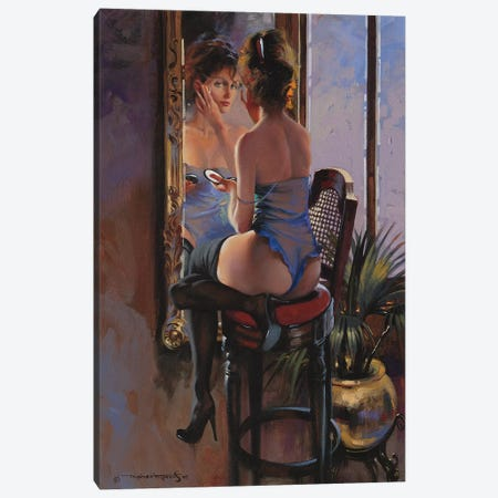 Make Up Canvas Print #MHM61} by Maher Morcos Canvas Art