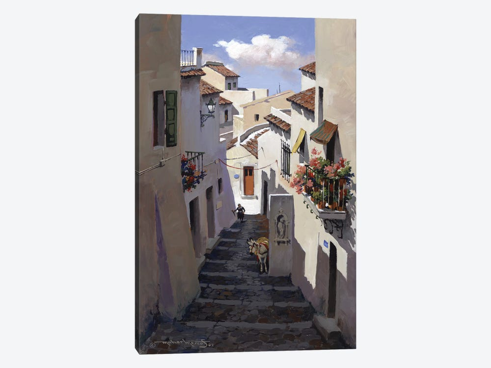 Marbella Spain by Maher Morcos 1-piece Canvas Wall Art