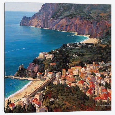Monterosso Al Mare (Cinque Terre, Italy) Canvas Print #MHM69} by Maher Morcos Canvas Art