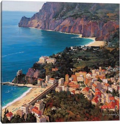 Monterosso Al Mare (Cinque Terre, Italy) Canvas Art Print