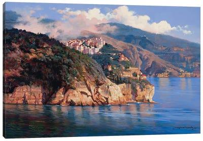 Mouth Of Portofino Canvas Art Print