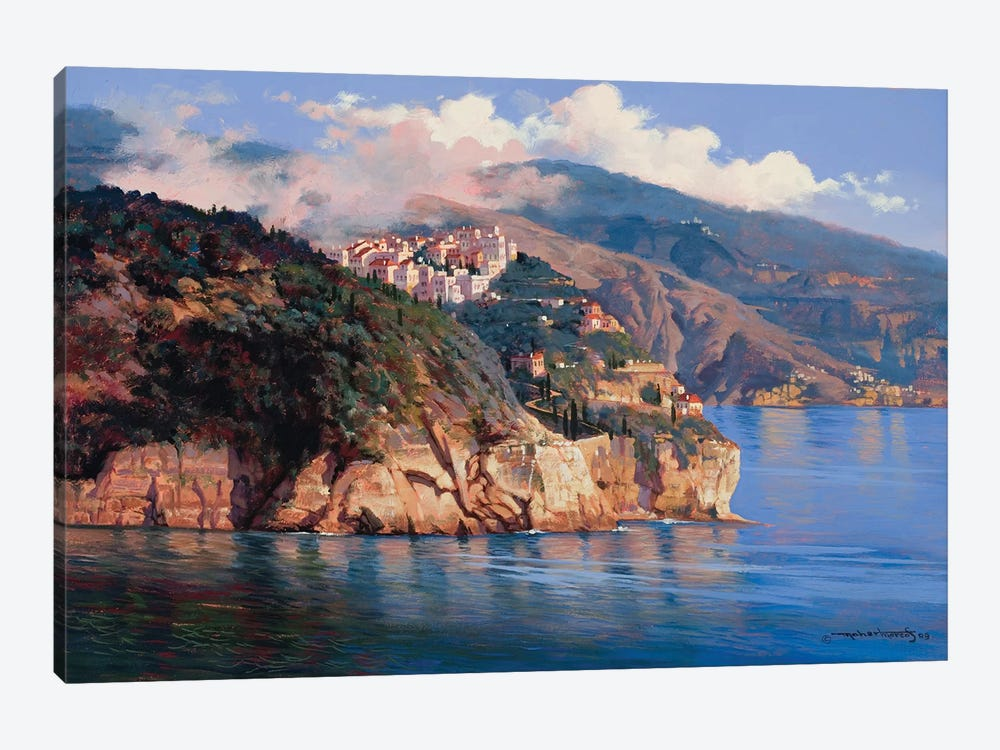 Mouth Of Portofino by Maher Morcos 1-piece Canvas Print