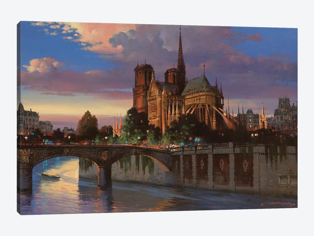 Notre Dame De Paris by Maher Morcos 1-piece Canvas Art Print
