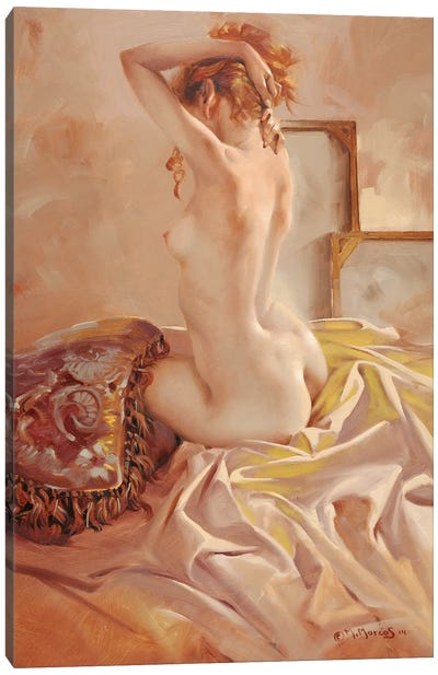 Nude Canvas Art Print