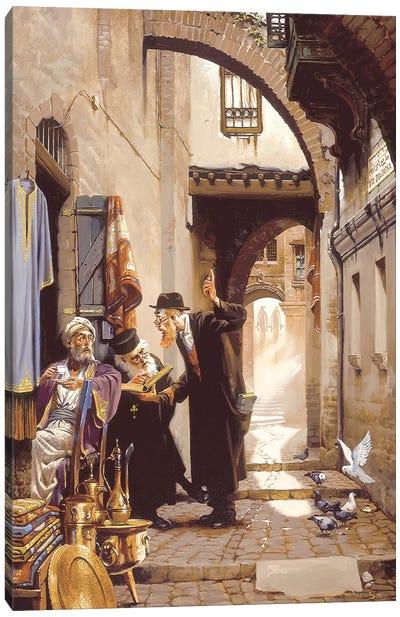 Old Friends At Via Deloresa Canvas Art Print