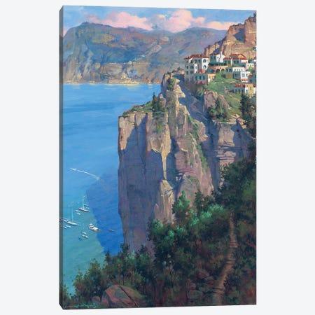 Amalfi Coast Canvas Print #MHM8} by Maher Morcos Canvas Print