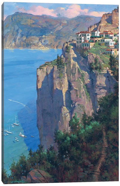 Amalfi Coast Canvas Art Print