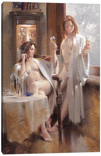 Sauvignon Blanc Canvas Art Print