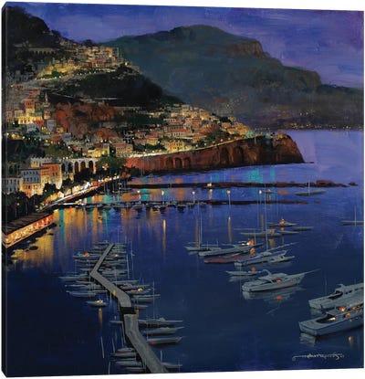 Amalfi Glow Canvas Art Print