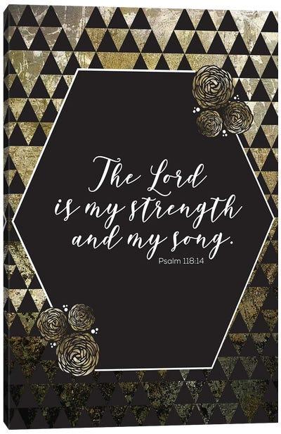 Gold Foil Scripture 4 Canvas Art Print