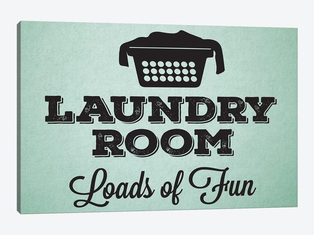 Laundry Mint I by Melody Hogan 1-piece Canvas Wall Art