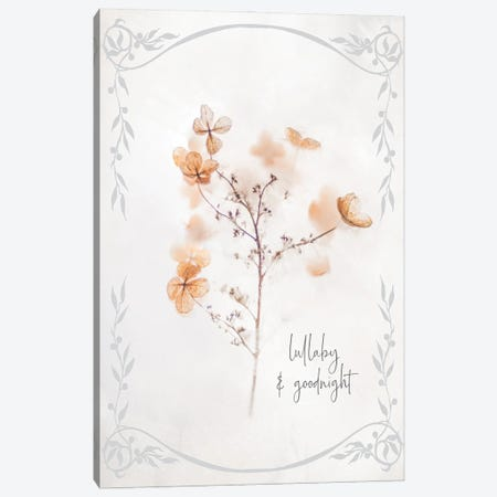 Baby Floral III Canvas Print #MHO48} by Melody Hogan Canvas Wall Art