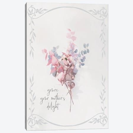 Baby Floral IV Canvas Print #MHO49} by Melody Hogan Canvas Art