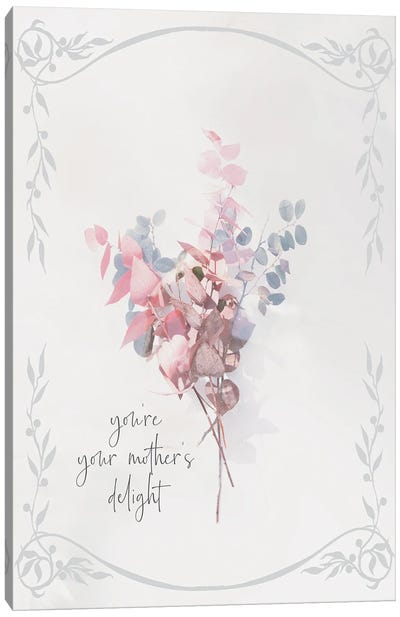 Baby Floral IV Canvas Art Print