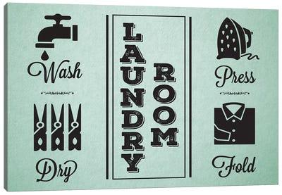 Laundry Mint IV Canvas Art Print