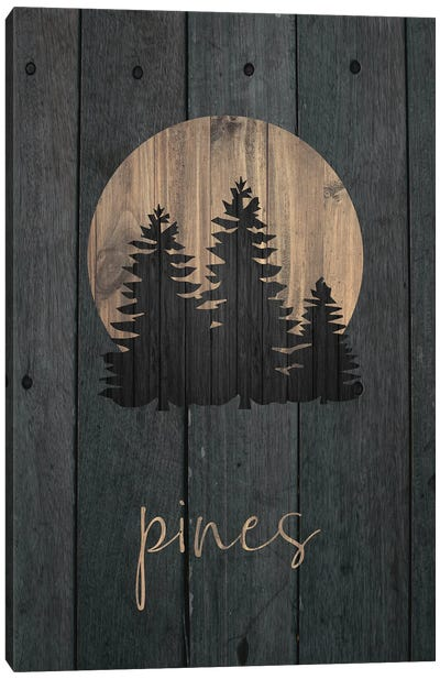 Wilderness Wood III Canvas Art Print