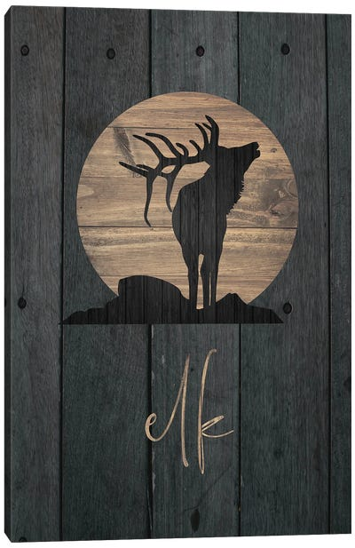Wilderness Wood V Canvas Art Print