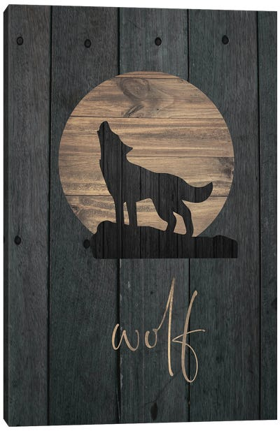 Wilderness Wood VI Canvas Art Print