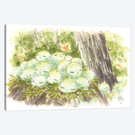 Kodama Canvas Print #MHS121} by Martin Hsu Canvas Wall Art