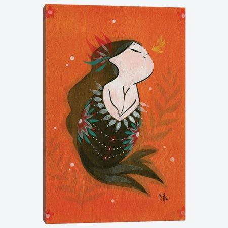 Goldfish Mermaid - Bubble Hope Canvas Print #MHS13} by Martin Hsu Art Print