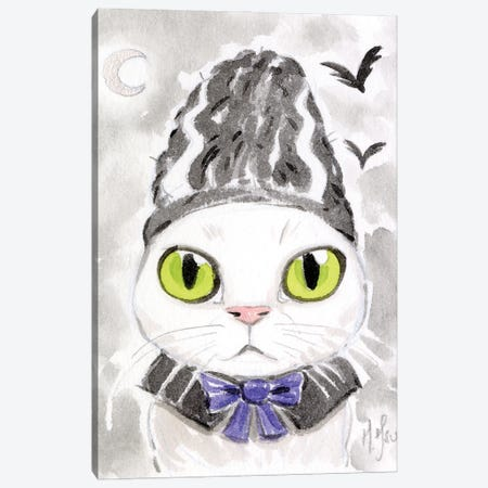 Cat - Bride Of Frankenstein Canvas Print #MHS144} by Martin Hsu Art Print