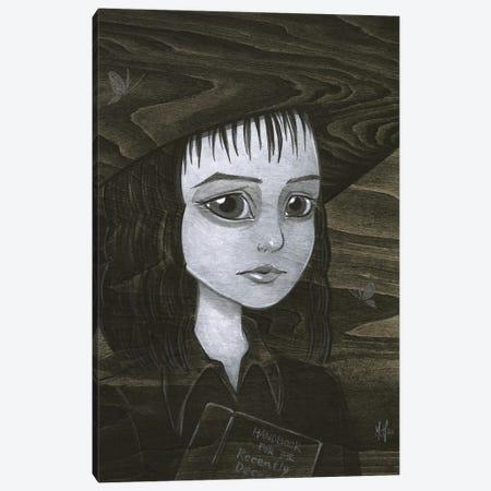 Lydia Deetz Canvas Print #MHS150} by Martin Hsu Canvas Print