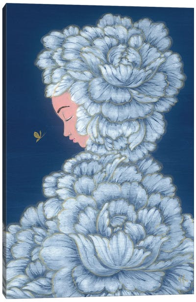 Night Bloom Canvas Art Print