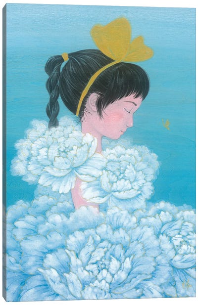 Sky Dance Canvas Art Print