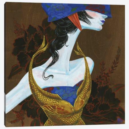 Peony Lady - Fighter Canvas Print #MHS35} by Martin Hsu Canvas Art