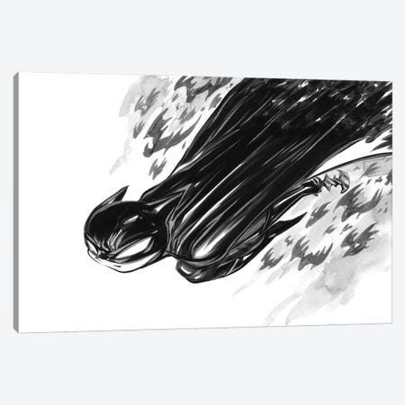 Bat Boy Flight Canvas Print #MHS46} by Martin Hsu Art Print