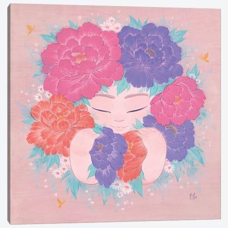 Flower Child Canvas Print #MHS50} by Martin Hsu Canvas Art Print