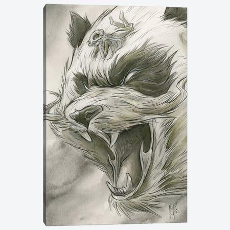 Spirit Animals - Panda Canvas Print #MHS65} by Martin Hsu Canvas Print