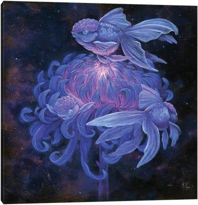 Goldfish Moon Canvas Art Print