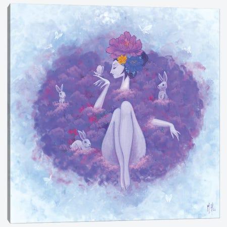 Flower Bath - Blossom Canvas Print #MHS80} by Martin Hsu Canvas Artwork