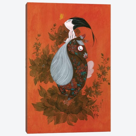 Wild Heart Canvas Print #MHS88} by Martin Hsu Canvas Art
