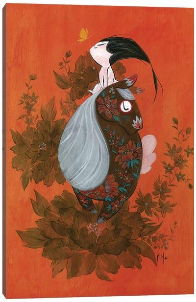 Wild Heart Canvas Art Print