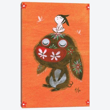 Piggy Hope Canvas Print #MHS92} by Martin Hsu Canvas Print