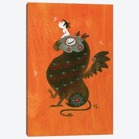 Griffin Canvas Print #MHS95} by Martin Hsu Canvas Art