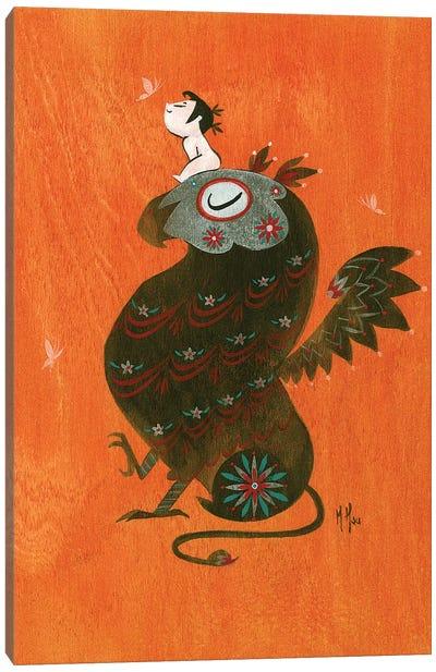 Griffin Canvas Art Print